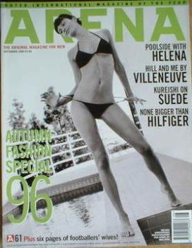 Arena magazine - September 1996 - Helena Christensen cover