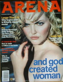 Arena magazine - May 1997 - Sophie Dahl cover