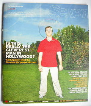 Seven magazine - Judd Apatow cover (13 January 2008)