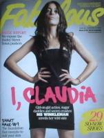 <!--2009-02-15-->Fabulous magazine - Claudia Winkleman cover (15 February 2009)