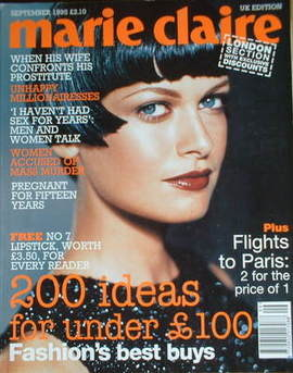 British Marie Claire magazine - September 1995