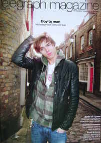 <!--2009-03-07-->Telegraph magazine - Nicholas Hoult cover (7 March 2009)