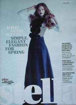 <!--2009-03-29-->Stella magazine - Fashion For Spring cover (29 March 2009)