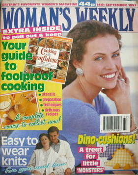<!--1993-09-14-->Woman's Weekly magazine (14 September 1993)