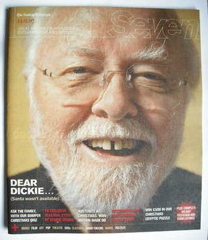 <!--2007-12-23-->Seven magazine - Richard Attenborough cover (23 December 2007)
