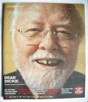 Seven magazine - Richard Attenborough cover (23 December 2007)