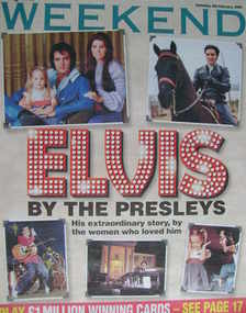 Weekend magazine - Elvis Presley cover (4 February 2006)