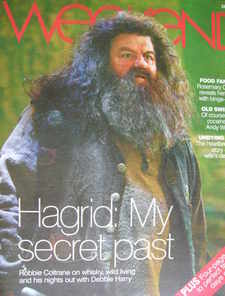 <!--2007-07-28-->Weekend magazine - Robbie Coltrane cover (28 July 2007)