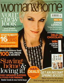 Woman & Home magazine - April 2009 (Annie Lennox cover)
