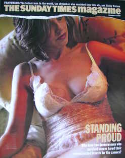 <!--2007-11-18-->The Sunday Times magazine - Standing Proud cover (18 Novem