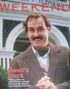 Weekend magazine - John Cleese cover (13 August 2005)
