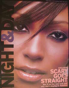 Night & Day magazine - Mel B cover (30 May 2004)