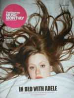 The Observer Music Monthly magazine - March 2009 - Adele cover