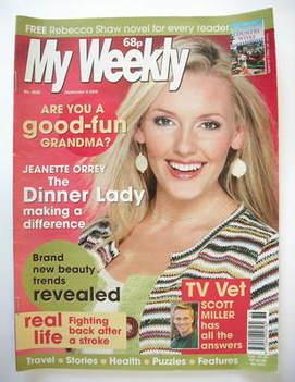 My Weekly magazine (9 September 2006)