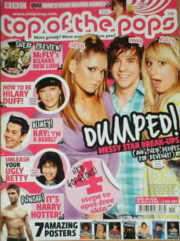 <!--2007-03-14-->Top of the Pops magazine - Star Break-Ups cover (14 March