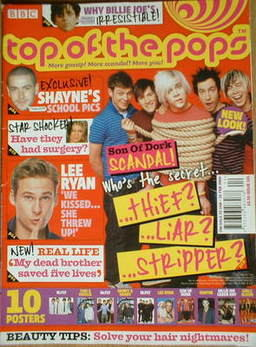 <!--2006-01-25-->Top Of The Pops magazine - Son Of Dork cover (25 January 2