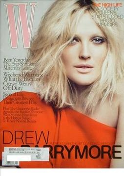 <!--2009-04-->W magazine - April 2009 - Drew Barrymore cover