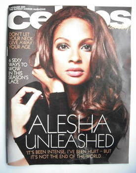 <!--2009-11-08-->Celebs magazine - Alesha Dixon cover (8 November 2009)