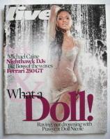 <!--2007-11-11-->Live magazine - Nicole Scherzinger cover (11 November 2007)