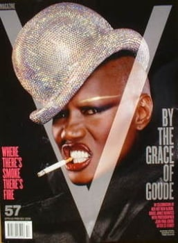V magazine - Spring 2009 - Grace Jones cover