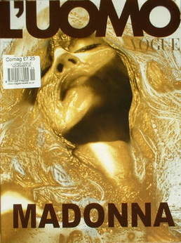 L'Uomo Vogue magazine - November 2005 - Madonna cover