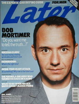 Later magazine - Bob Mortimer cover (April 2000)