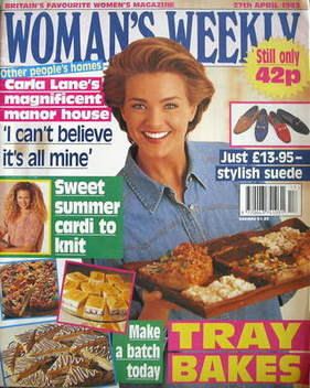 <!--1993-04-27-->Woman's Weekly magazine (27 April 1993)