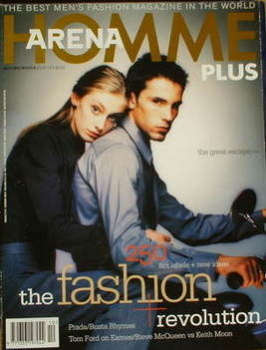 Arena Homme Plus magazine (Autumn/Winter 1998 - Issue 10 - The Fashion Revolution cover)