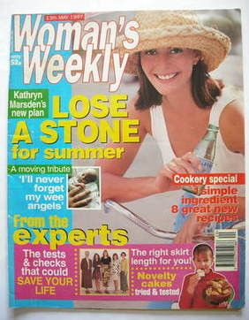 <!--1997-05-13-->Woman's Weekly magazine (13 May 1997)