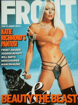 <!--2002-01-->Front magazine - Katie Richmond cover (January 2002)