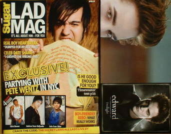 Lad magazine - Pete Wentz cover (April 2009)