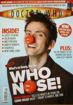 Doctor Who magazine - David Tennant cover (April 2009)