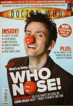 <!--2009-04-->Doctor Who magazine - David Tennant cover (April 2009)