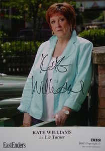 Kate Williams autograph (ex-EastEnders actor)