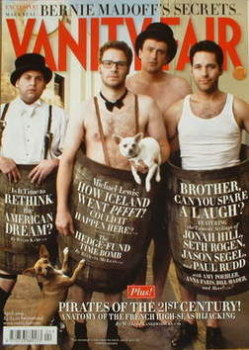 Vanity Fair magazine - Comedy's New Legends cover (April 2009)