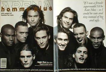 <!--1994-09-->Arena Homme Plus magazine (Autumn/Winter 1994 - Issue 2 - Mar