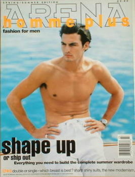 <!--1995-04-->Arena Homme Plus magazine (Spring/Summer 1995 - Issue 3 - Stan Nelson cover)
