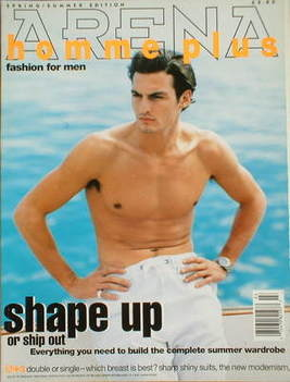 <!--1995-04-->Arena Homme Plus magazine (Spring/Summer 1995 - Issue 3 - Sta