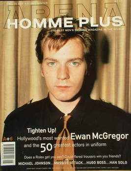 Arena Homme Plus magazine (Autumn/Winter 1996/1997 - Issue 6 - Ewan McGregor cover)