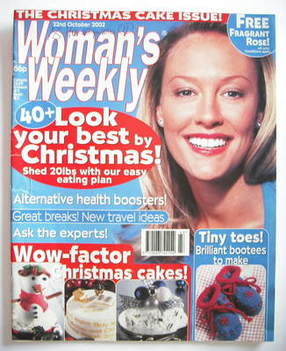 <!--2002-10-22-->Woman's Weekly magazine (22 October 2002)