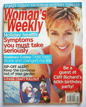 <!--2000-07-11-->Woman's Weekly magazine (11 July 2000)