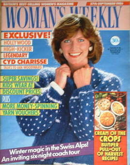 <!--1986-09-27-->Woman's Weekly magazine (27 September 1986 - British Editi