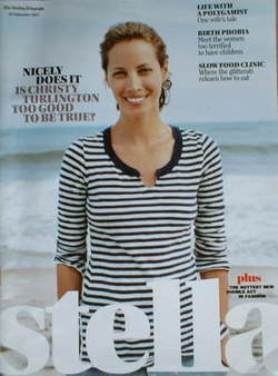 Stella magazine - Christy Turlington cover (23 September 2007)