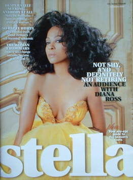 <!--2006-10-15-->Stella magazine - Diana Ross cover (15 October 2006)