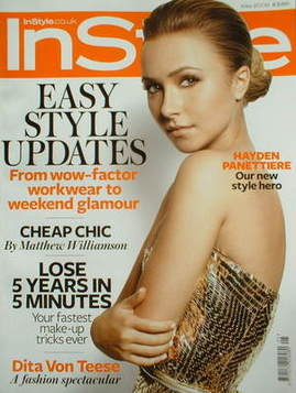 <!--2009-05-->British Instyle magazine - May 2009 - Hayden Panettiere cover