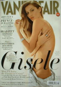 <!--2009-05-->Vanity Fair magazine - Gisele Bundchen cover (May 2009)