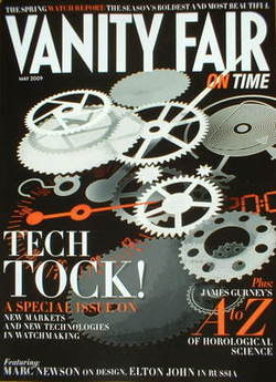 Vanity Fair On Time magazine supplement - Tech Tock cover (May 2009)