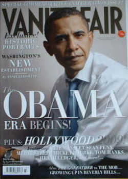 Vanity Fair magazine - Barack Obama cover (March 2009)
