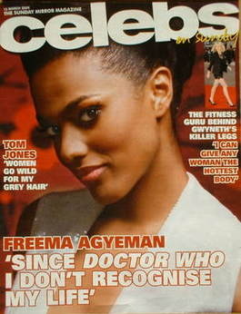 <!--2009-03-15-->Celebs magazine - Freema Agyeman cover (15 March 2009)