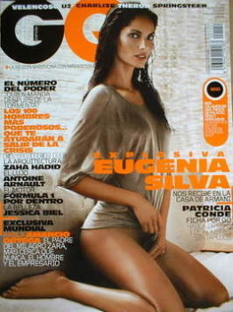Spanish GQ magazine - March 2009 - Eugenia Silva cover